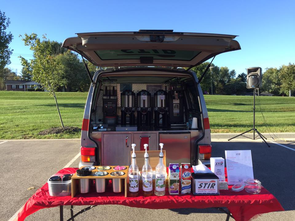 STIR Mobile Coffee at the Ivy Tech Car Show in 2016