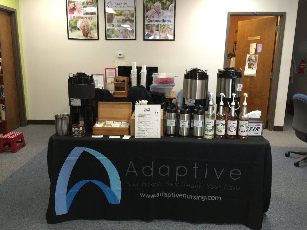 STIR Mobile Coffee catering service at Adaptive
