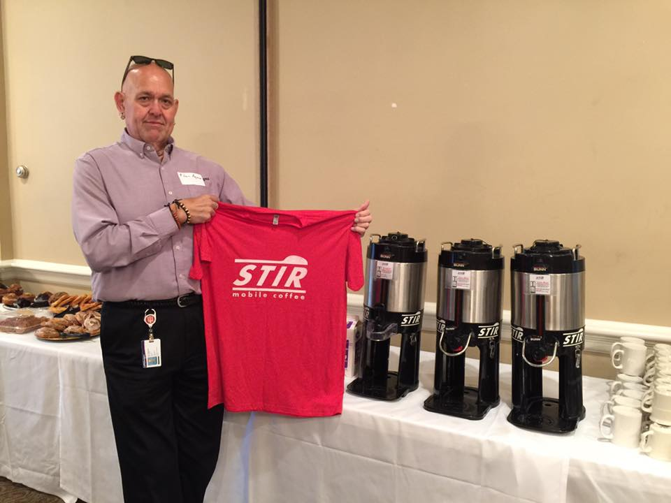 STIR Mobile Coffee catering service at LIFEDesigns
