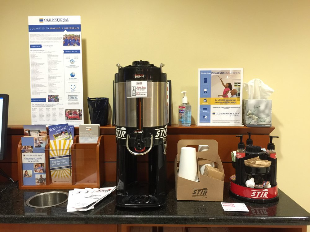 STIR Mobile Coffee catering at Chase Bank