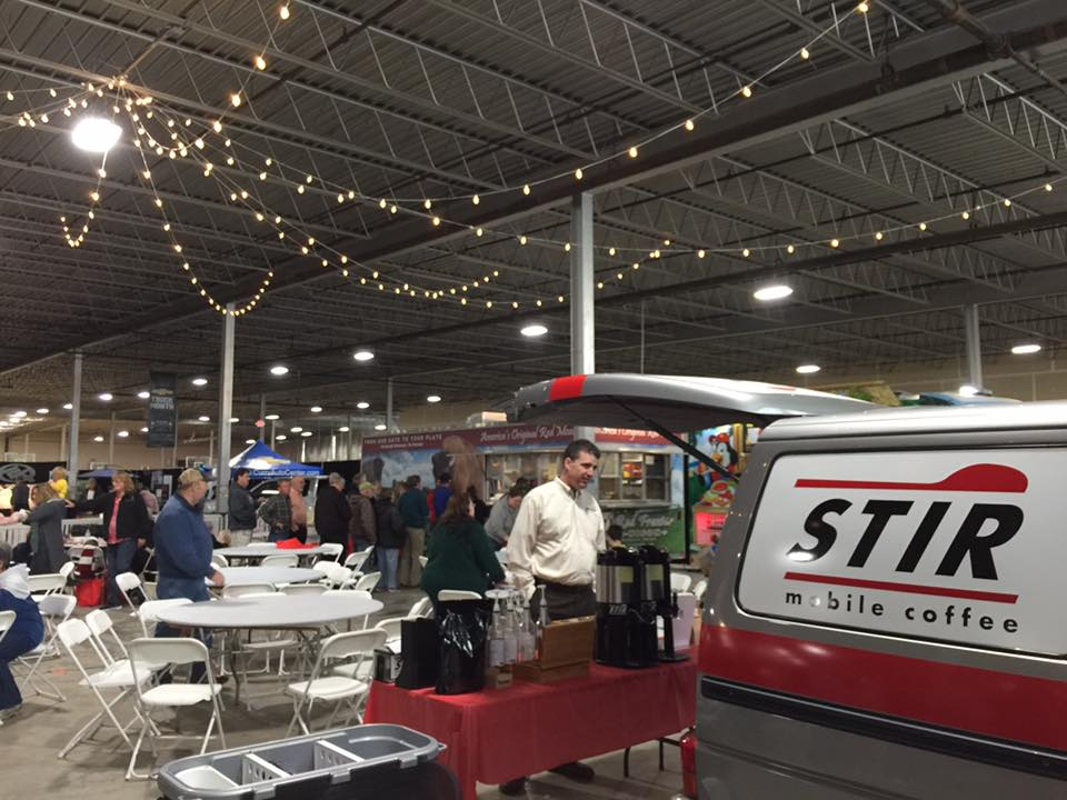 STIR Mobile Coffee at The Bloomington Home Show in 2017