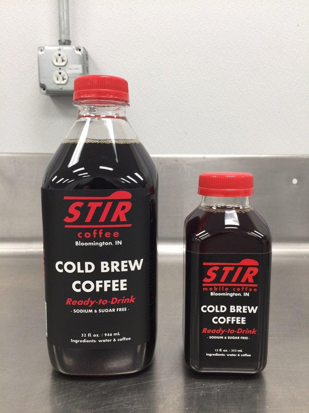 The BIG STIR (32 oz. / 946 mL) @ $7.99 vs. The Little STIR (12 oz. / 355 mL) @ $3.49