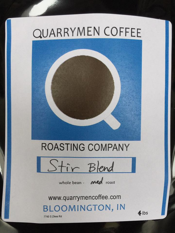 Quarrymen Coffee: Signature STIR Blend