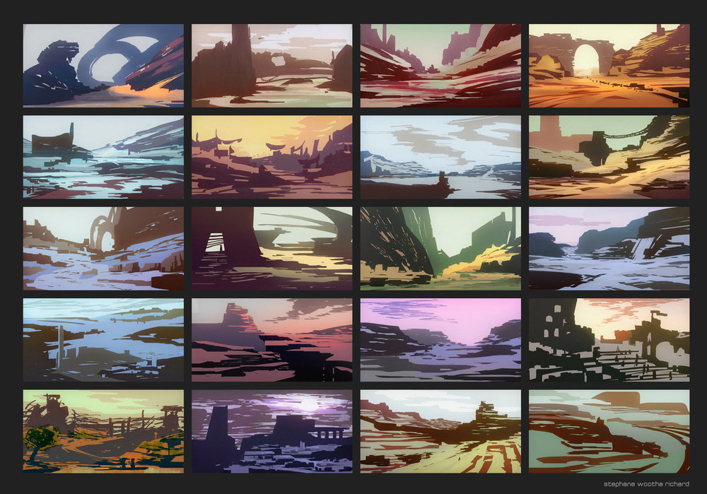 Environment Color Thumbnails