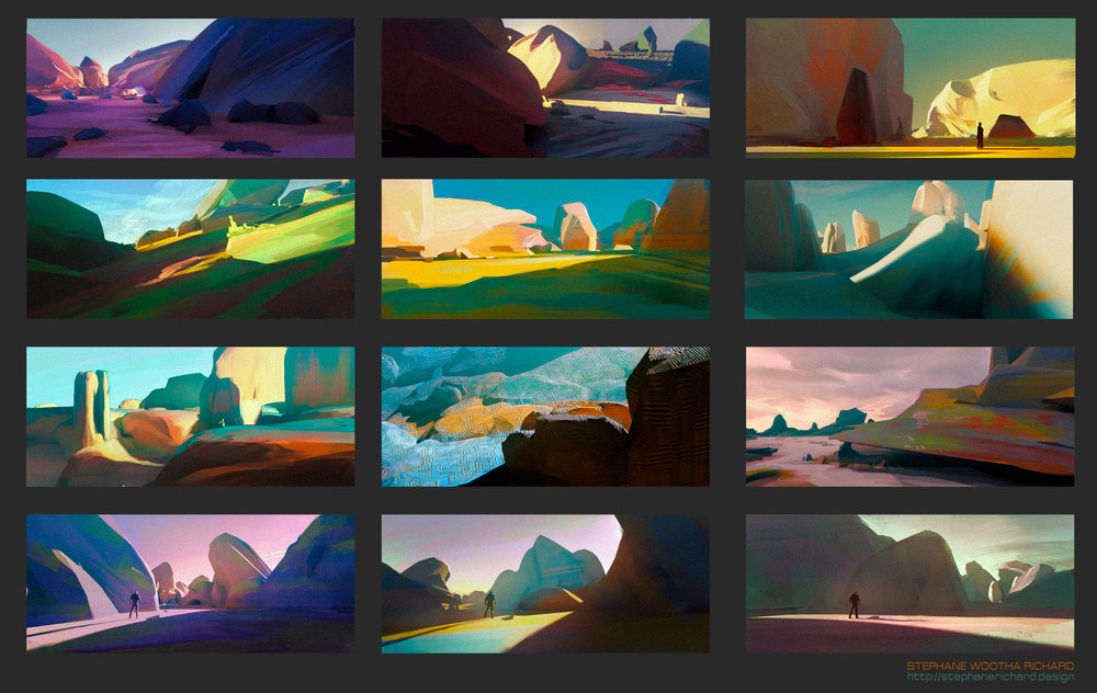 Rocky environments thumbnails