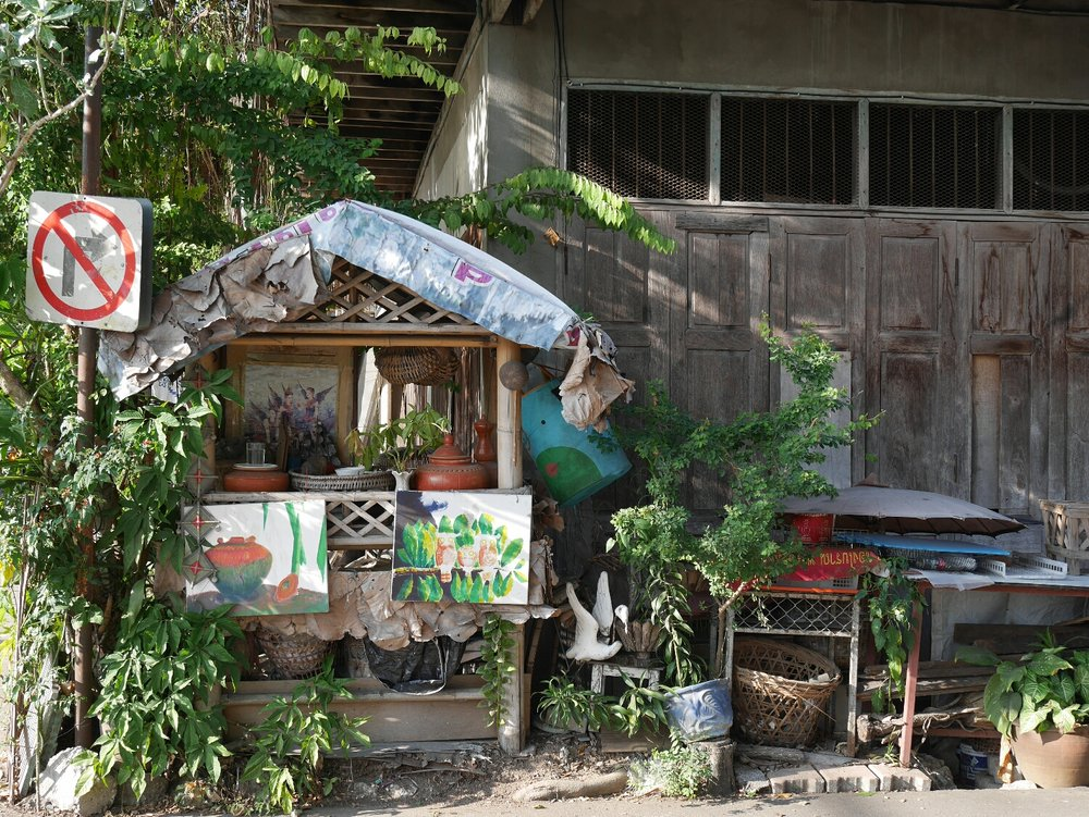A pretty street corner in Chiang Mai.