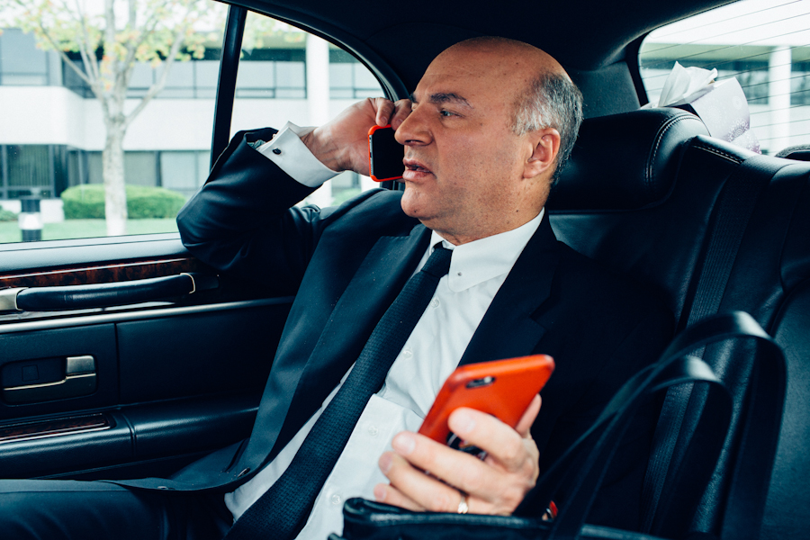 Kevin O'Leary for Macleans
