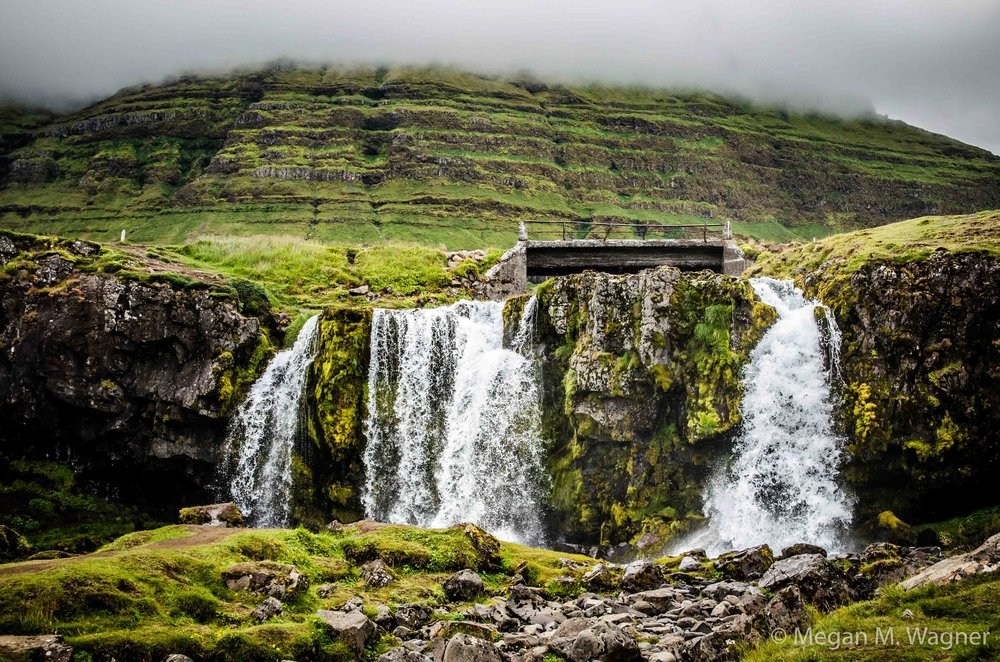Kirkjufell Waterfalls