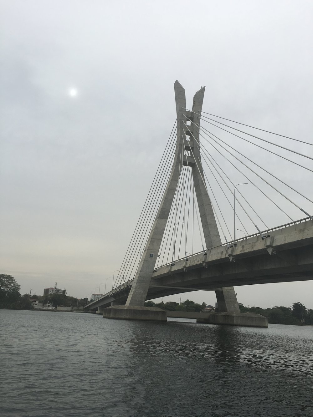 Lagos life on the Lekki-Ikoyi link bridge, March 2016
