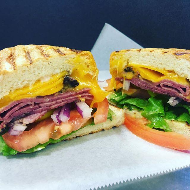 Hot pastrami #sandwich melt #food #deli #restaurant #san jose #California #yummy #