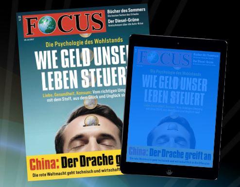 Focus Nr. 31, 29. Juli 2017