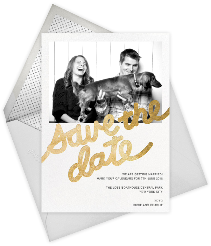 paperless post - save the dates