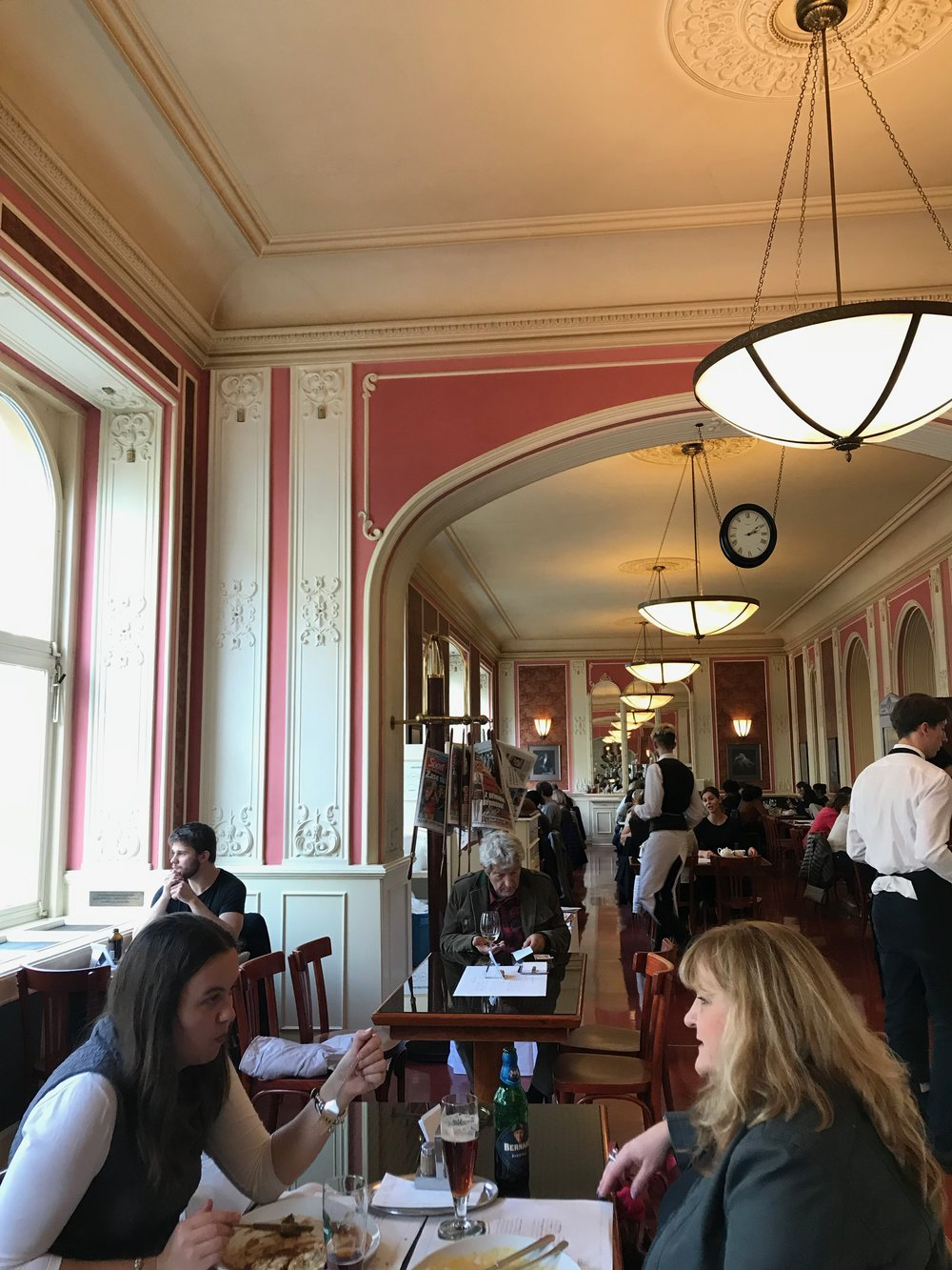 Cafe Louvre - Tj loved the fact that Einstein frequented here!