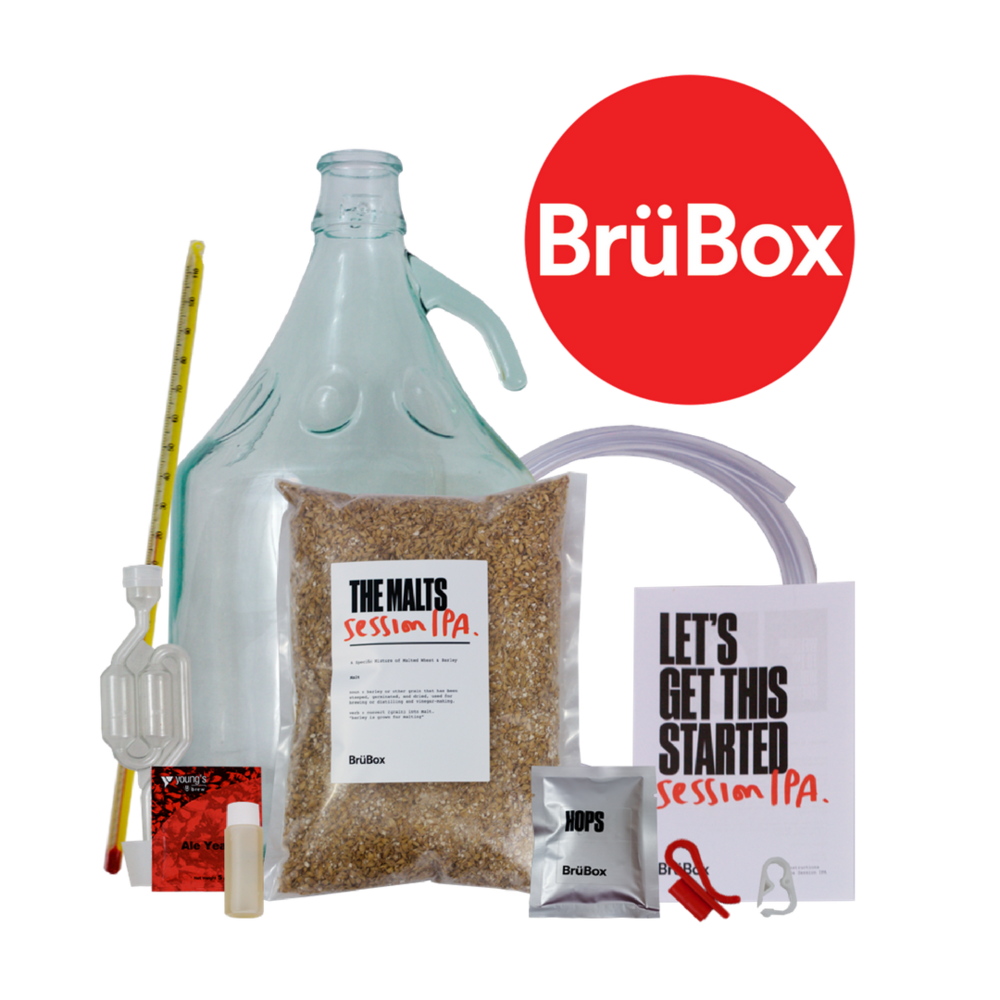 Brewing craft beer is easy with BrüBox.