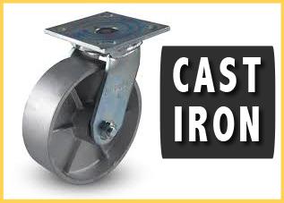 Armadillo Cast Iron Casters