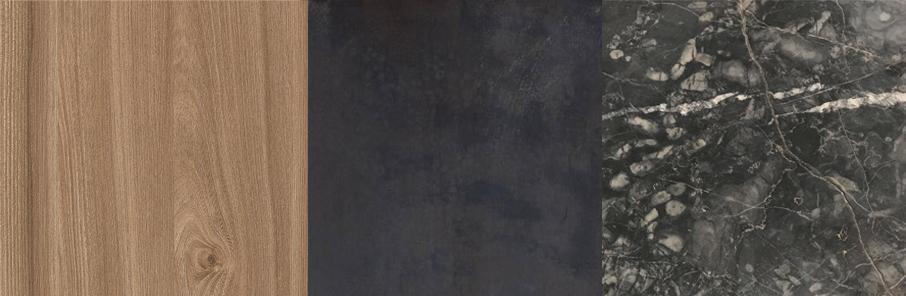 Elm | Hand Blackened Steel |Ashburton Marble