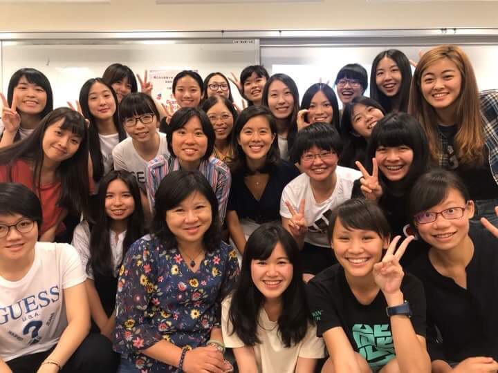 Thank you Shida for this opportunity, and to these wonderful students who are going to become amazing English teachers for Taipei's children to come!
