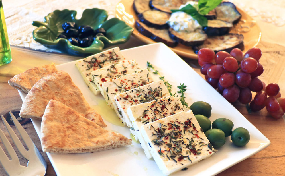Herbed Feta with Olives
