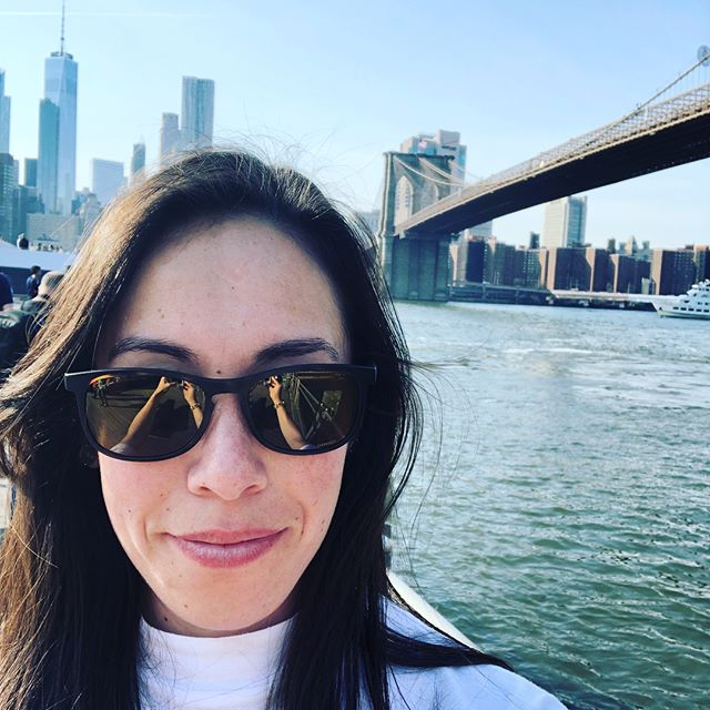 Enjoying my week of #funemployment in NYC. Finally got to walk the #brooklynbridge!
