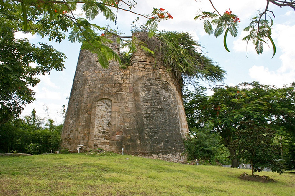 Sugar Mills hidden around the island.