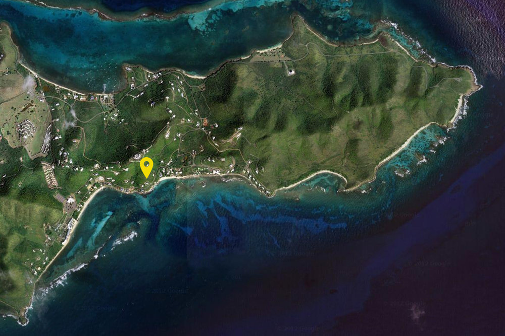 Location on St Croix