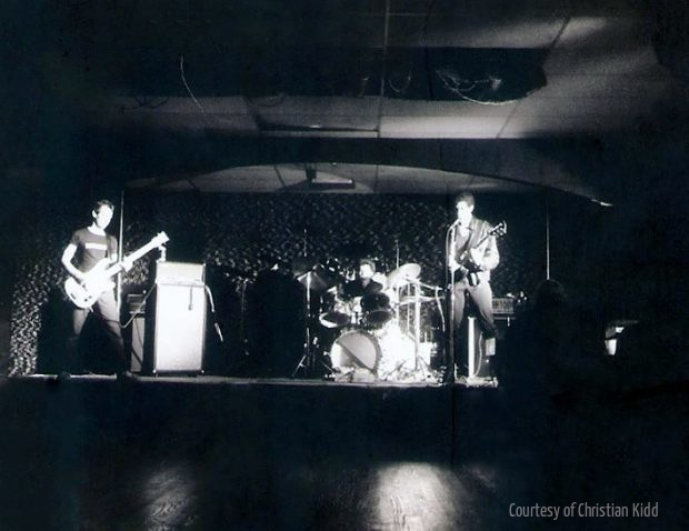 Christian Oppression, the second iteration of Hates frontman Christian Arnheiter's band, perform at Houston's   Paradise Island   club in 1979.    PHOTO BY   GLEN BROOKS  ; CONTRIBUTED BY   CHRISTIAN KIDD  .