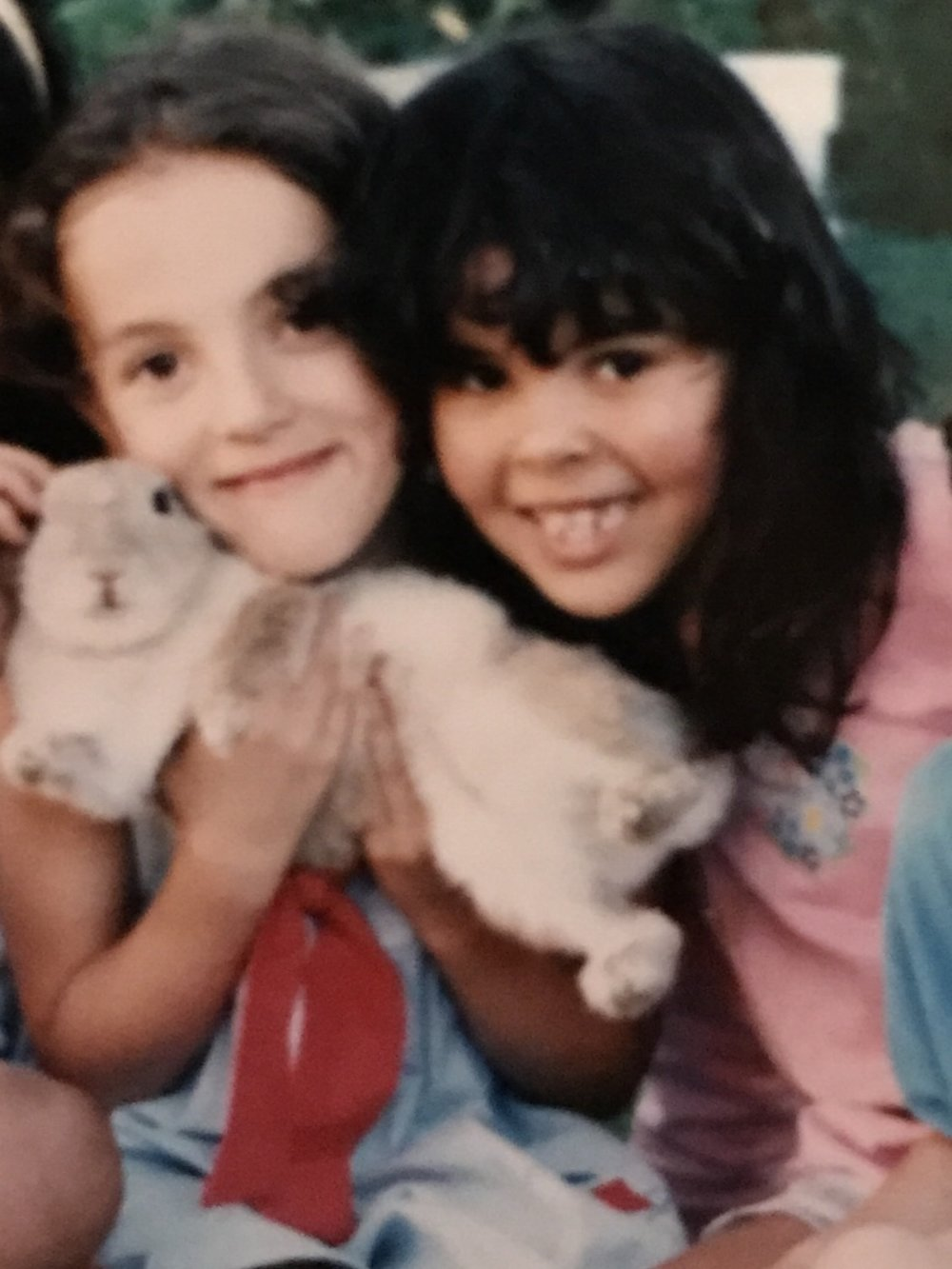 Munya and Rim, circa 1994