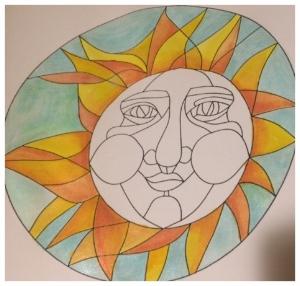 Zentangle, Zendoodle, Doodling, Template, Tangling