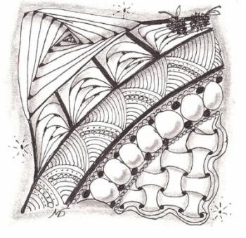 Zentangle, Zendoodle, Doodling,Tangles, Cadent, Onomato, Shattuck, Betweed, Rick's Paradox