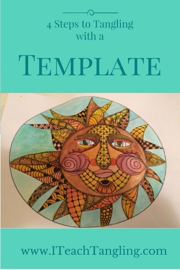 Zentangle, Tangling, Zendoodle, Templates, How to Draw, Drawing