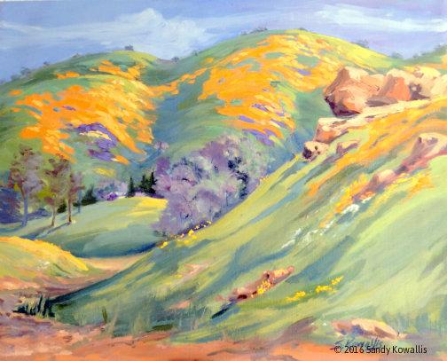 LANDSCAPES - Watercolor & Oil