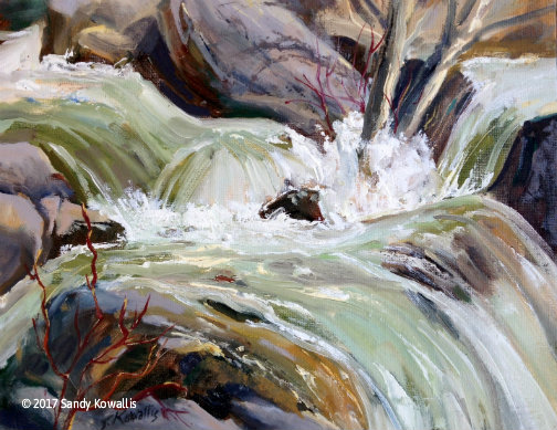 High Water Yosemite - oil-11 x 14