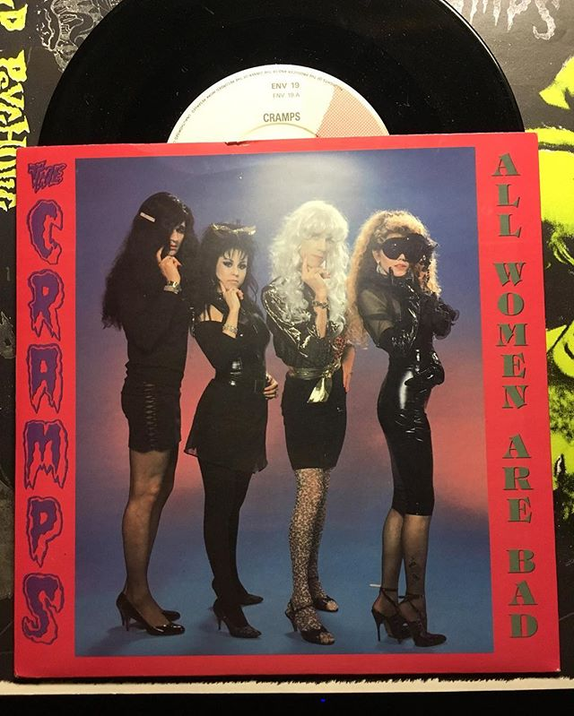 Nasty Women. #recordscore #thecramps #cretinhopla. Cretin Hop Returns Saturday Nov. 19th at @theshortstopechopark