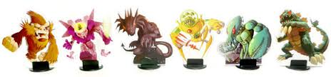 Original Player Tokens from King of Tokyo board game
