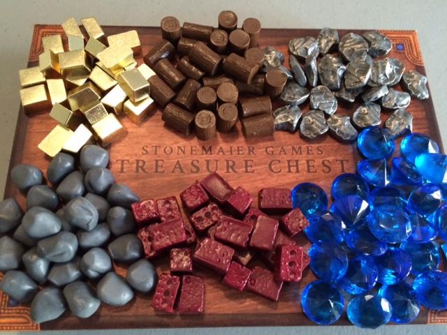 Original Stonemaier games treasure chest