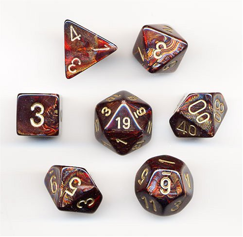 Blue Blood Chessex Dice