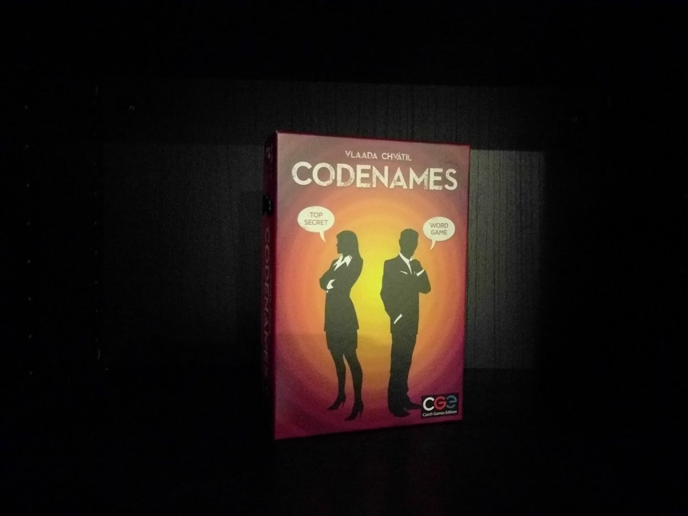 Codenames a New Year's Eve board game recommendations