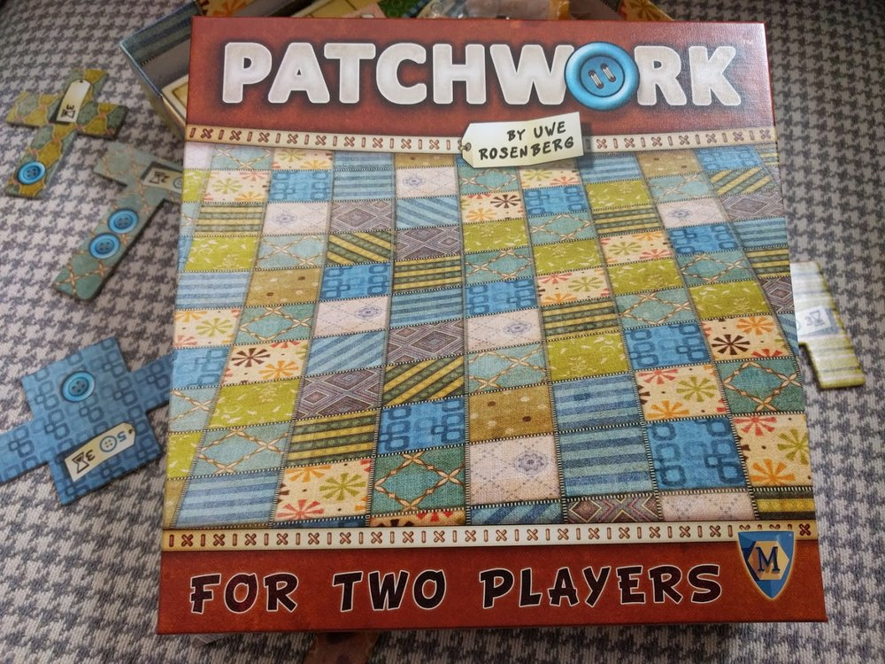Patchwork a New Year's Eve board game recommendations