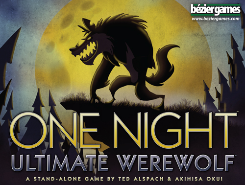 One Night Ultimate Werewolf board game box cover art