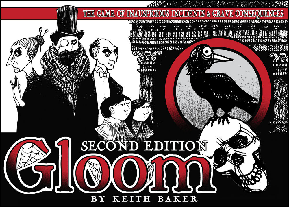 Gloom board game box