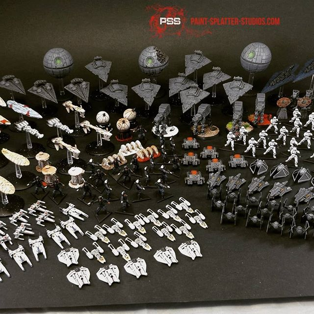 Star Wars Rebellion painted by Paint Splatter Studios