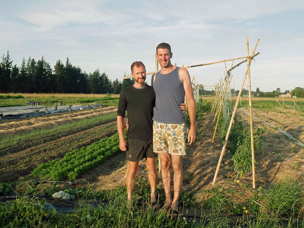 The dynamic farming duo -- Shane and Ben -- were an inspiration to us and gracious hosts.
