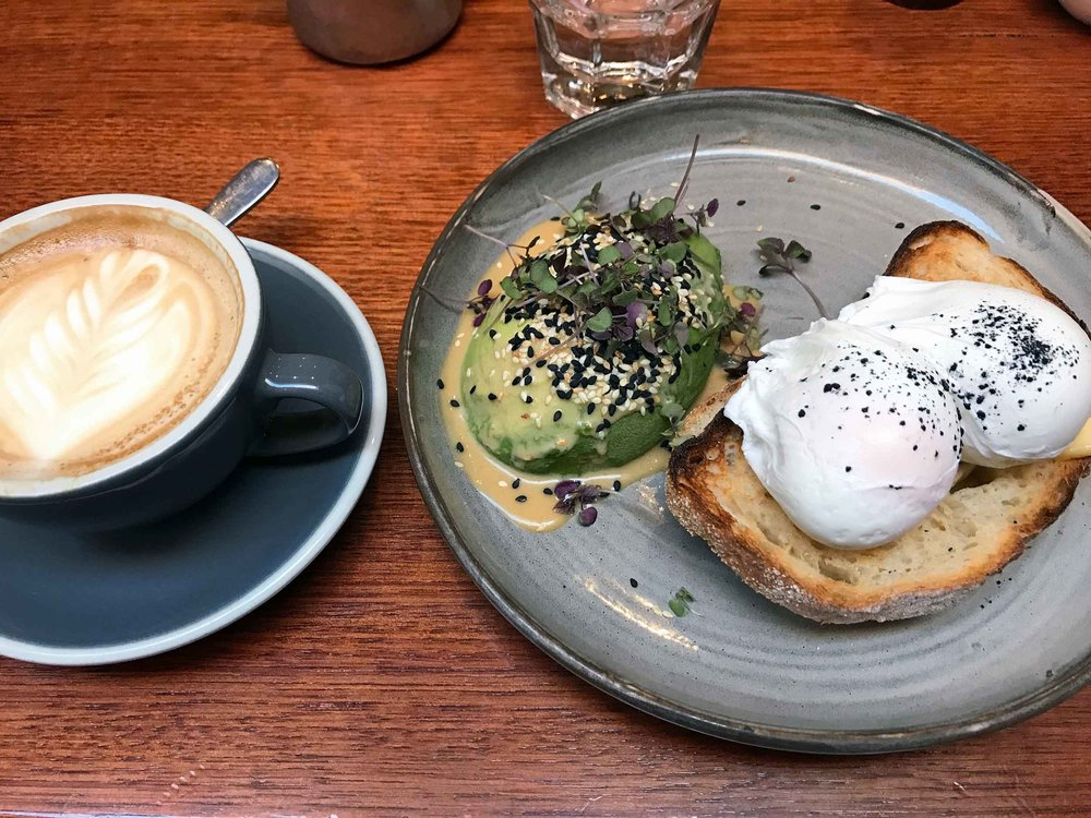 Formerly known as the Rathdowne Street Food Store, where Martin trained in the art of coffee, is now called Small Victories, serving trendy avo toast and eggs (Jan 26).