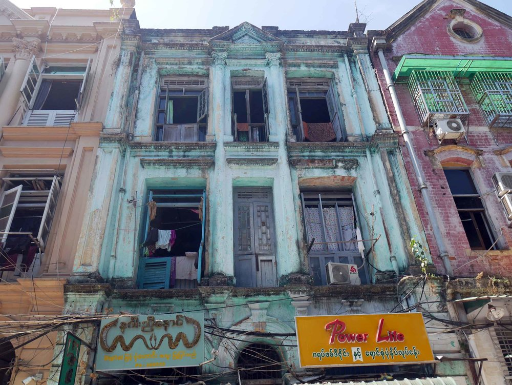 Once the capital of Burma, Yangon, formerly known as Rangoon, is the country's largest city (Feb 9).