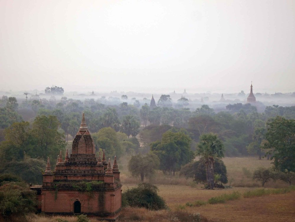 With more than 2,000 temples and pagodas dotting the landscape, Bagan feels like a mysterious leftover from ancient days (Feb 15).