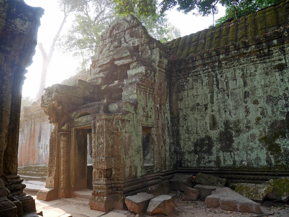 Expansions and additions to Ta Prohm went on until the late 15th century (Feb 27).