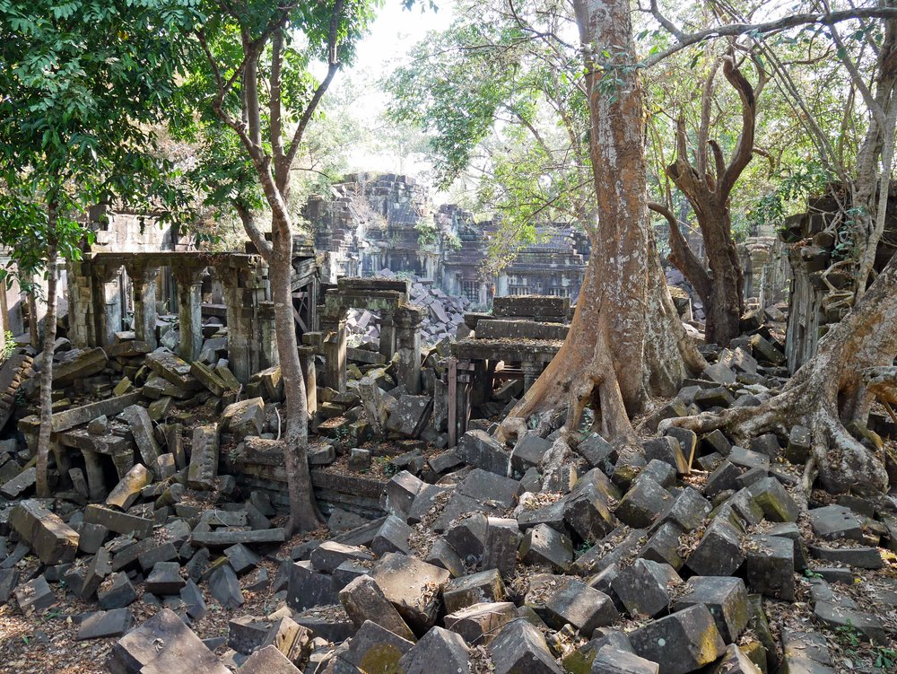Like Angkor Wat, it was originally constructed as a Hindu temple in the early 12th century (March 1).