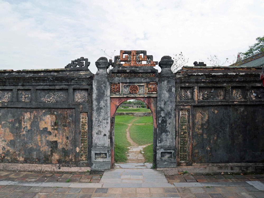 A doorway in the 2.5 KM wall that separates the Imperial City from the innermost Purple Forbidden City, which only the imperial family could access.