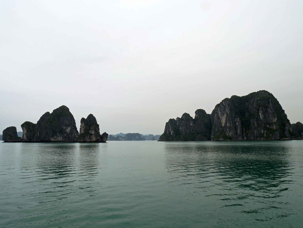 Etherial, otherworldly Halong Bay is 100% worth the hype.  Designated a World Heritage site in 1994, this is one of the biggest attractions in Vietnam for a reason (Mar 27).