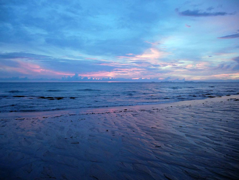 Koh Lanta's Klong Nin beach offered dramatic, stunning sunsets nearly every night we were on the island.